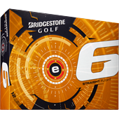 Bridgestone's new e6 golf ball