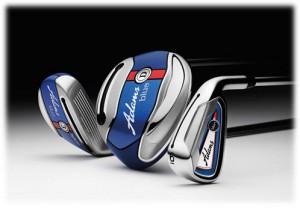 Adams Golf's new Blue line of clubs