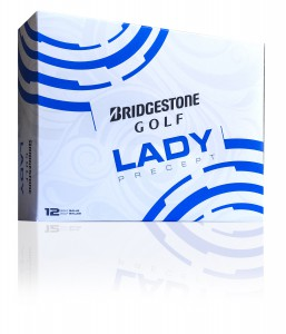 Bridgestone's new generation Lady Precept golf ball