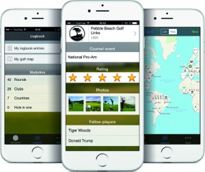 New app features golf courses from around the world