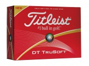 The Titleist DT TruSoft golf ball