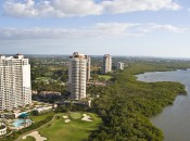 High-rises along Estero Bay