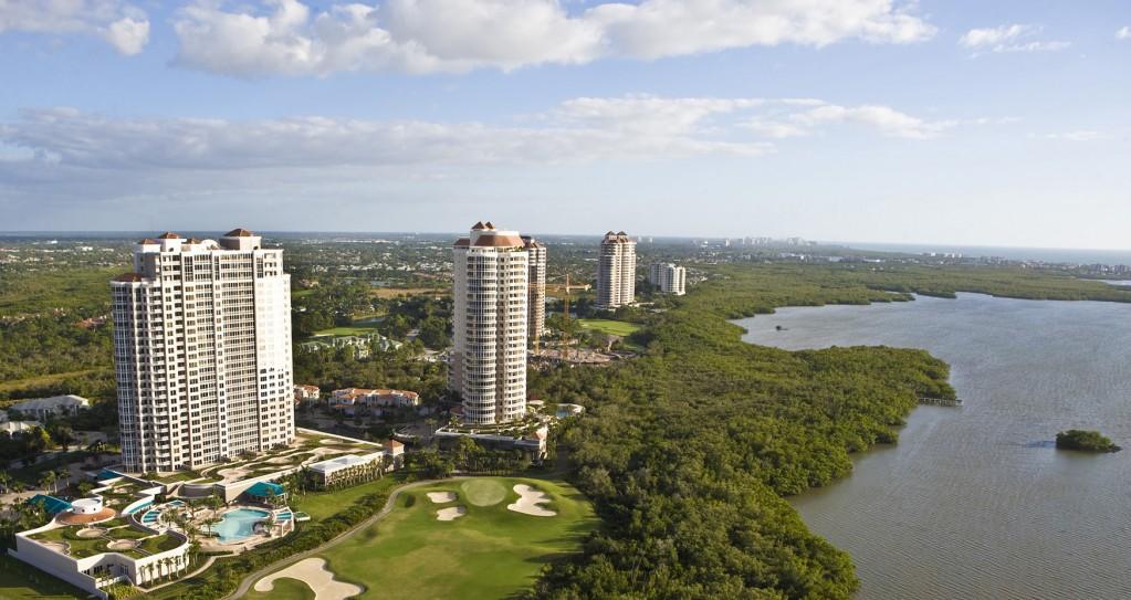 High-rises along Estero Bay