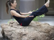 Boat Pose (Navasana) will strengthen the abdominals and create a body that is more powerful for golf.