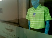 Sequined mannequins: You'll never see them at Augusta. And bravo for that...