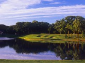 One of the few things that hasn't changed at Medinah: Lake Kadijah, named for the