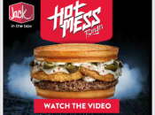jack in the box Hot mess