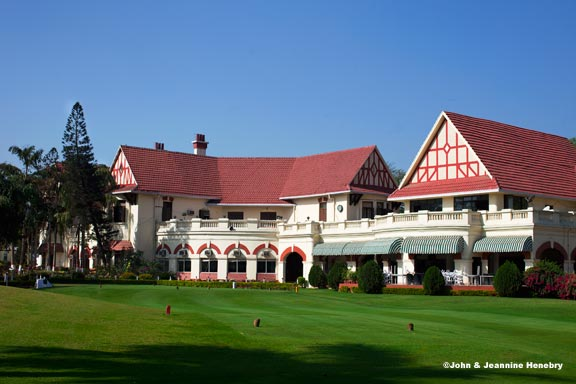 The clubhouse of the Royal Calcutta Golf Club
