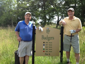 Badgers take on ``Badgers'' at Duke's Course