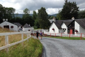 Edradour looks more like a pastoral village than a distillery