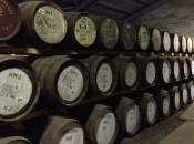 The aging room at Edradour Distillery can be inspirational