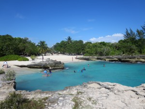 Smith Cove is a popular spot for snorkeling and wedding vows.