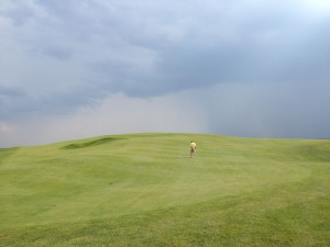 Celebrated No. 9: Golf Digest gave its `Golf Hole of the year to this less-is-more uphill par-4, a barren but enchanting climb marked only by one pot bunker.