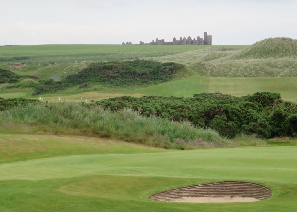 Slain's Castle, said to be an inspiration for Dracula author Bram Stoker, lurks ominously over magical Cruden Bay