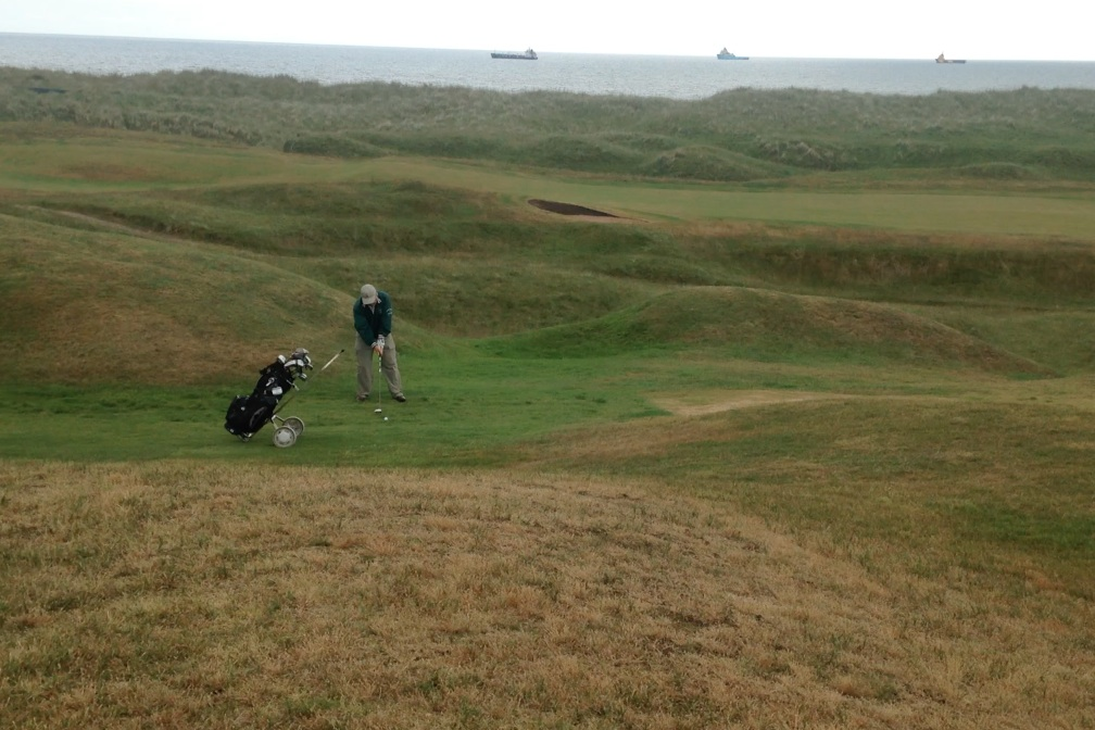 Murcar is pure seaside Scottish golf, even with oil-rig support craft lurking in the North Sea.