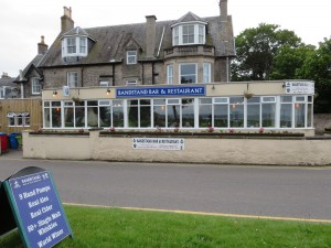 The Bandstand is a popular drinking and dining spot in Nairn.