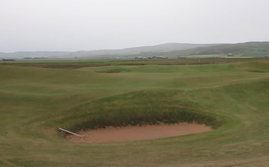 Machrihanish, bunker, screenshot