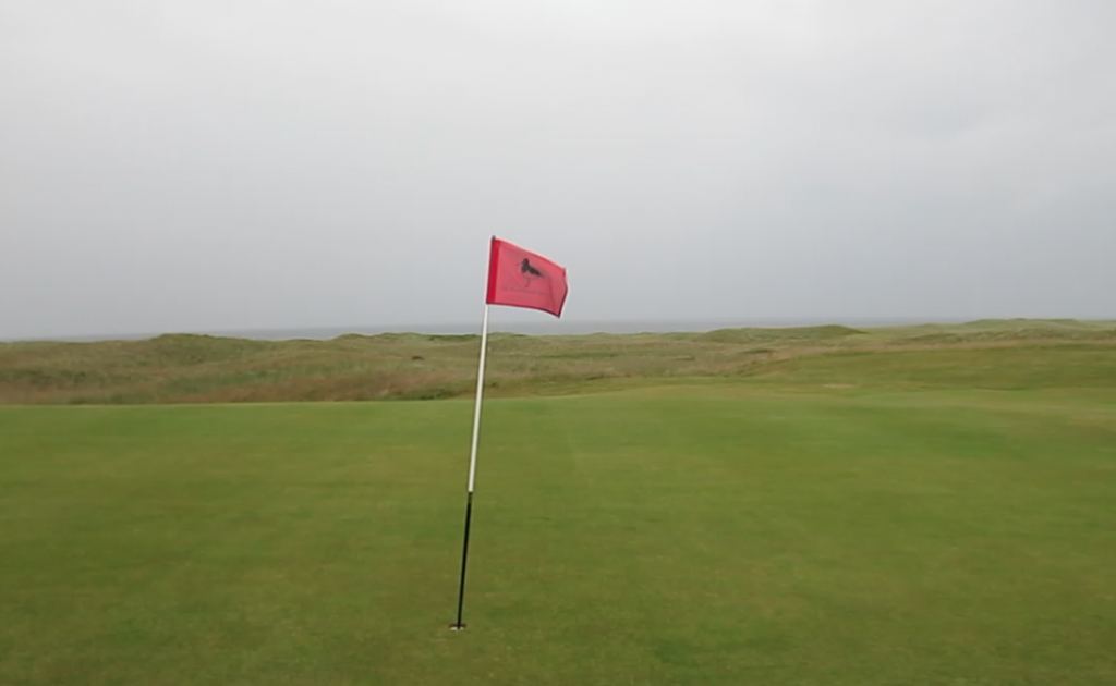 Machrihanish, pin & seas