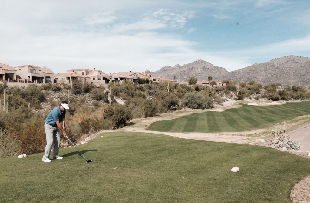 LaPaloma has ample fairways, but it's best not to stray beyond them.