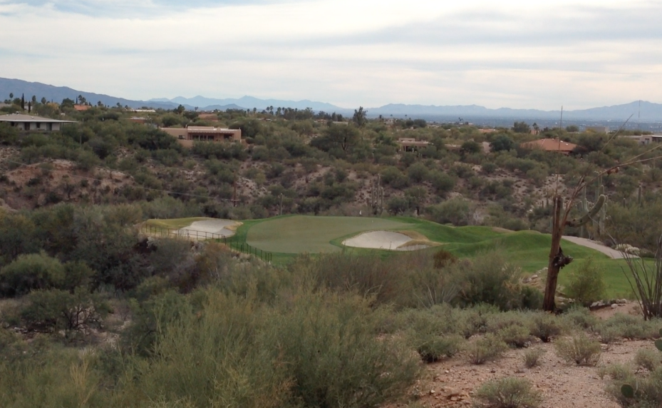 Desert classic: This La Paloma one-shotter gives a good idea of what to expect on a Southwest par three,