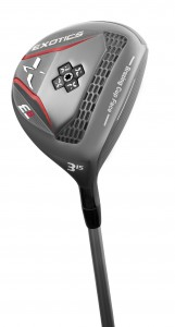 Tour Edge E8 adjustible 3-wood packs a powerful punch.
