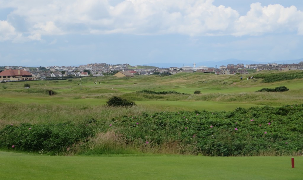 Royal Portrush and  Portrush itself. . . . The town beyond the golf never gets old.