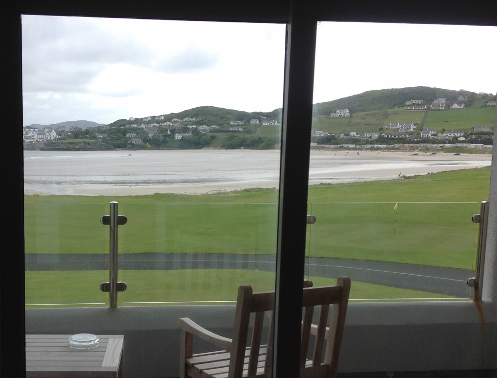 Rosapenna Hotel overlooks Sheephaven Bay, in County Donegal on Ireland's northwest coast.