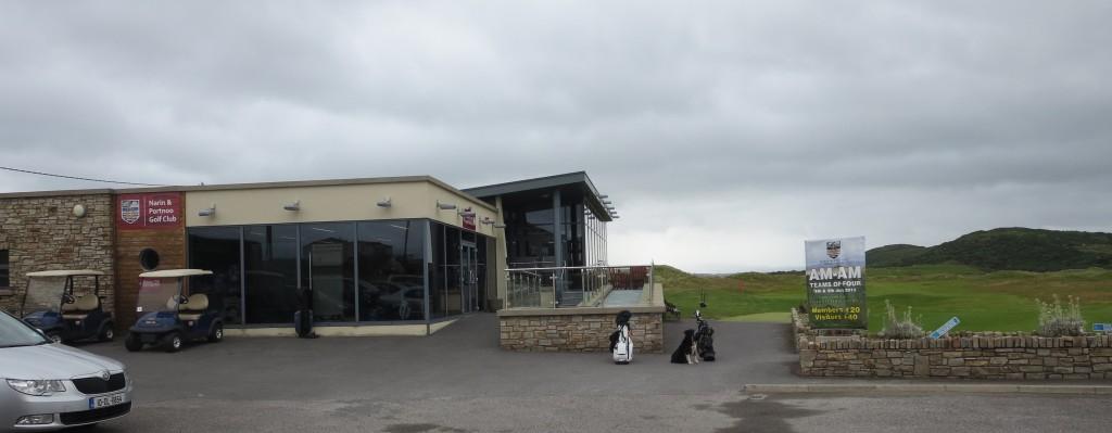 Narin & Portnoo clubhouse