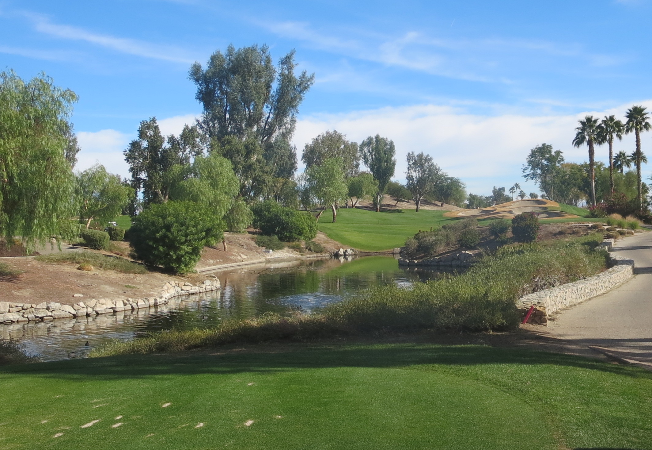 No. 8 at Indian Wells