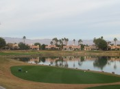 No. 6 at PGA West. So much water in the desert.