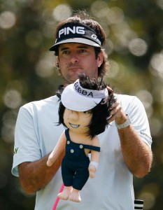 Bubba Watson got into headcover design.