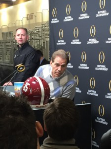 Saban is the world-wide leader in college football coaching.