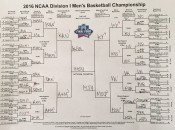 My NCAA bracket