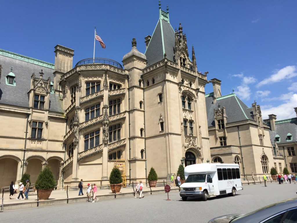 The late-19th-Century Biltmore Estate is an American cousin of Downton Abbey.