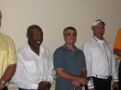 Bob Neal, Mark Thomas, Sal Ditta, Ivan Marin, David Weatherspoon