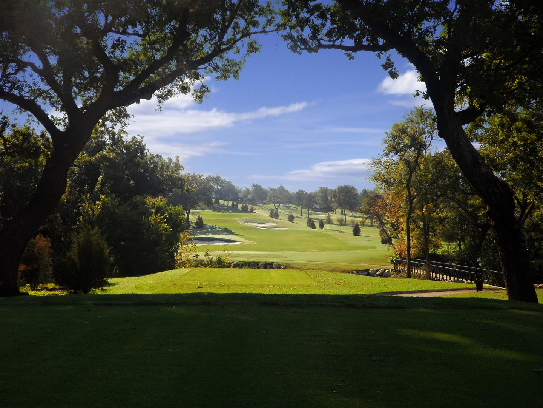 18th hole at Stevens Park