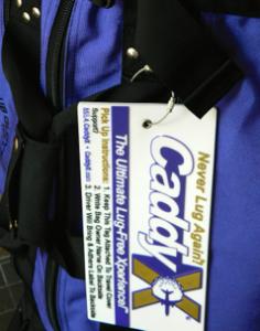 CaddyX Travel Tag