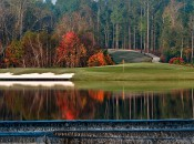 Eleventh hole at the Falls Course, Magnolia Grove