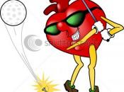 heart healthy golfer