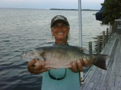 When I'm not making birdies I'm fishing in Michigan or the Florida Keys.  A record Mangrove Snapper....for me.