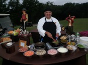 Chef on the Practice Range.....a perfect start.