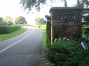Crystal Downs entrance......the road up to Heaven