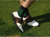 Feel free to wear these socks at the MWGA St. Patrick's Day Fundraiser for Junior Girls Golf