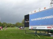 Approaching storm at Arnold Palmer's Bay Hill Classic