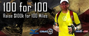 Ryan Parrott runs 100 miles in 30 hours to raise awareness for burn victims.