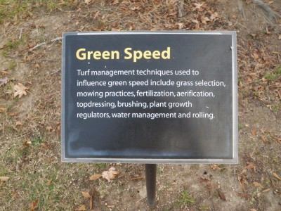 Green speeds can impact pace of play.