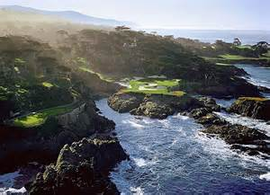 The feared but respected 16th at Cypress Point.