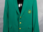 Up For Bid: One, Lightly Worn Green Jacket.