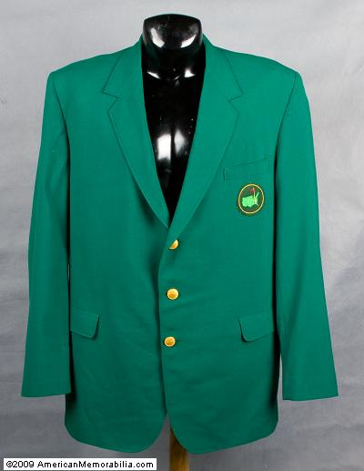 Winning a Green Jacket