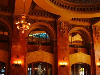 Under the Tiffany Glass Dome in El Paso's Best Bar